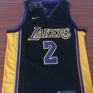 Los Angeles Lakers Lonzo Ball Authentic Jersey